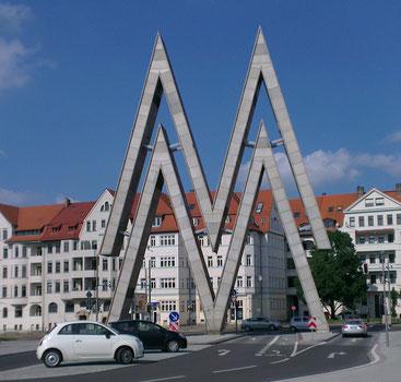 Das Messe M in Leipzig