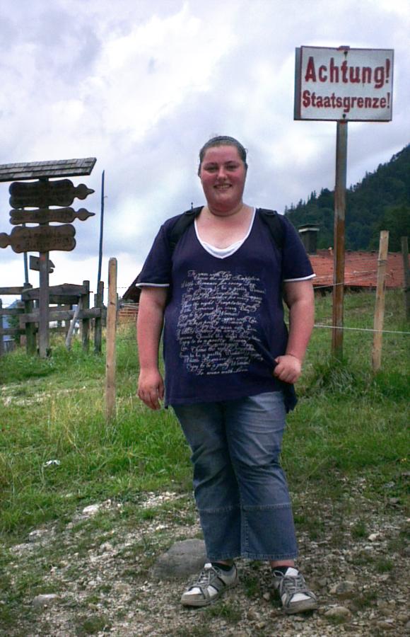 So sah ich am Anfang meiner Reise aus. 120kg... Das Ziel, mein Gewicht mindestens halbieren.
